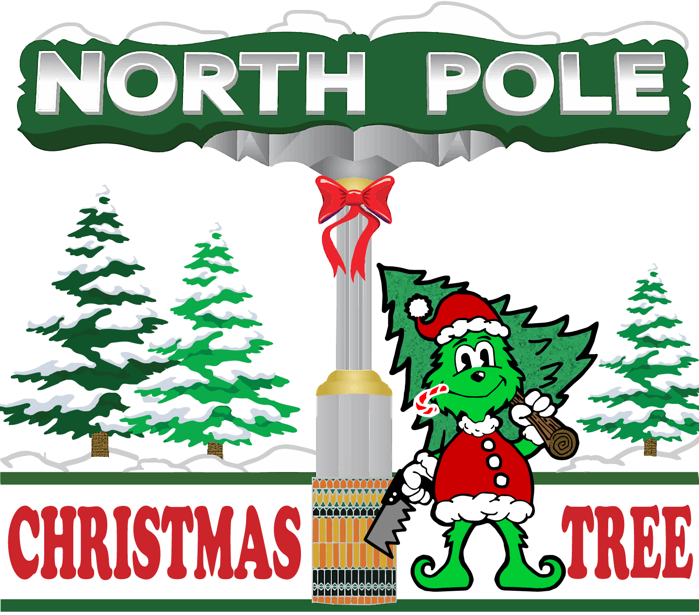 North Pole Christmas Tree